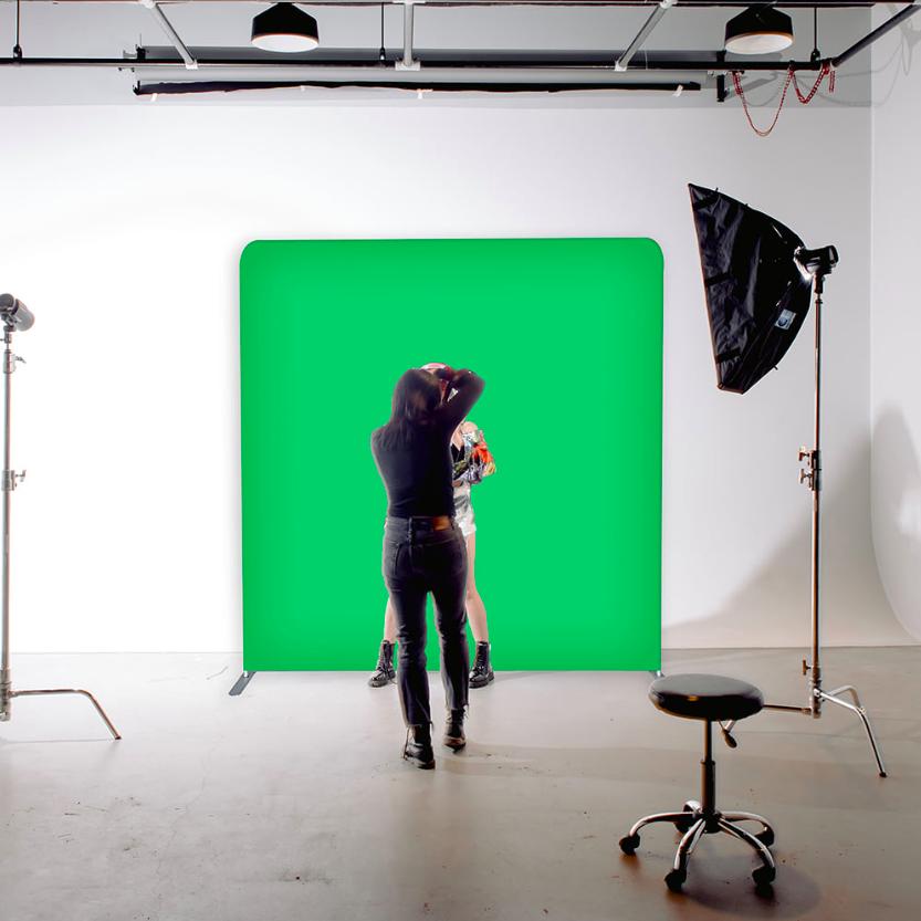 1,5 meter scherm (228 cm hoog)